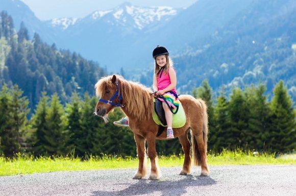 Cours d'équitation pour enfant à partir de 2 ans