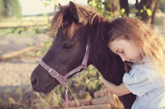 Cours d'équitation pour enfant handicapé